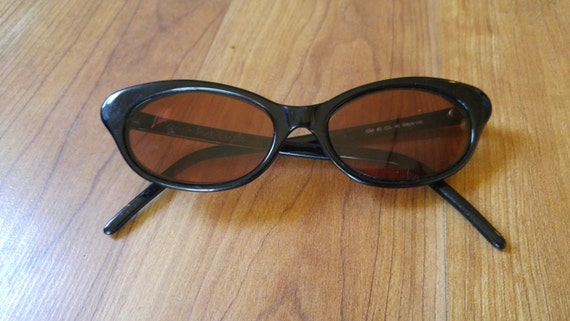 60s black cats eye prescription sunglasses by Gior