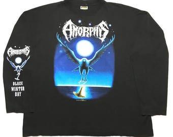 AMORPHIS vintage 1994 longsleeve shirt - XL