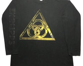 DIE KRUPPS vintage 1990s longsleeve shirt - XL