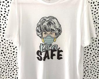 Golden Girls' Bea Arthur Tee shirt Be Safe