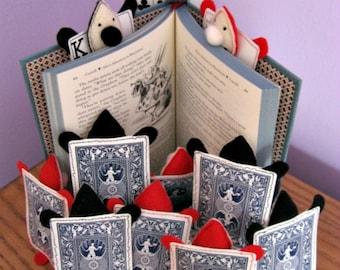 Alice in Wonderland Plush Playing Card Men