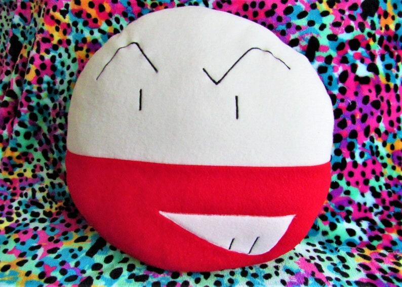 ELECTRODE  Pokémon Plush Cushion Companion  Inspired by image 0