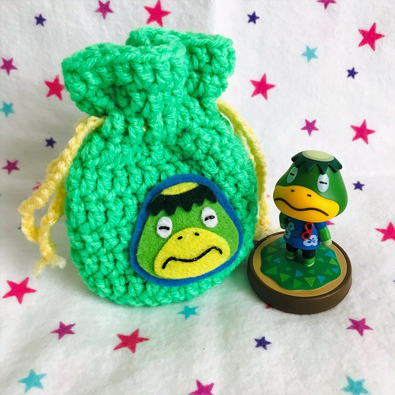 KAPP'N AMIIBO BAG  Animal Crossing  Crochet Amigurumi image 0