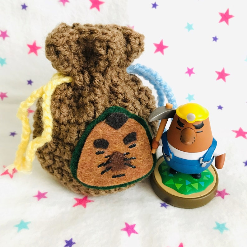 RESETTI AMIIBO BAG  Animal Crossing  Crochet Amigurumi image 0