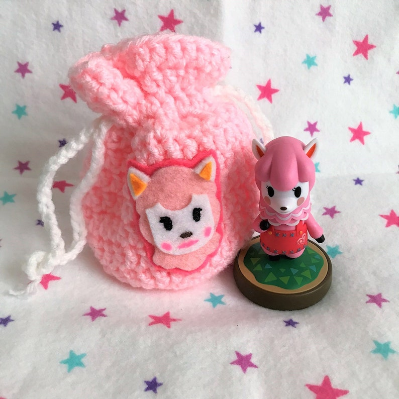 REESE AMIIBO BAG  Animal Crossing  Crochet Amigurumi image 0