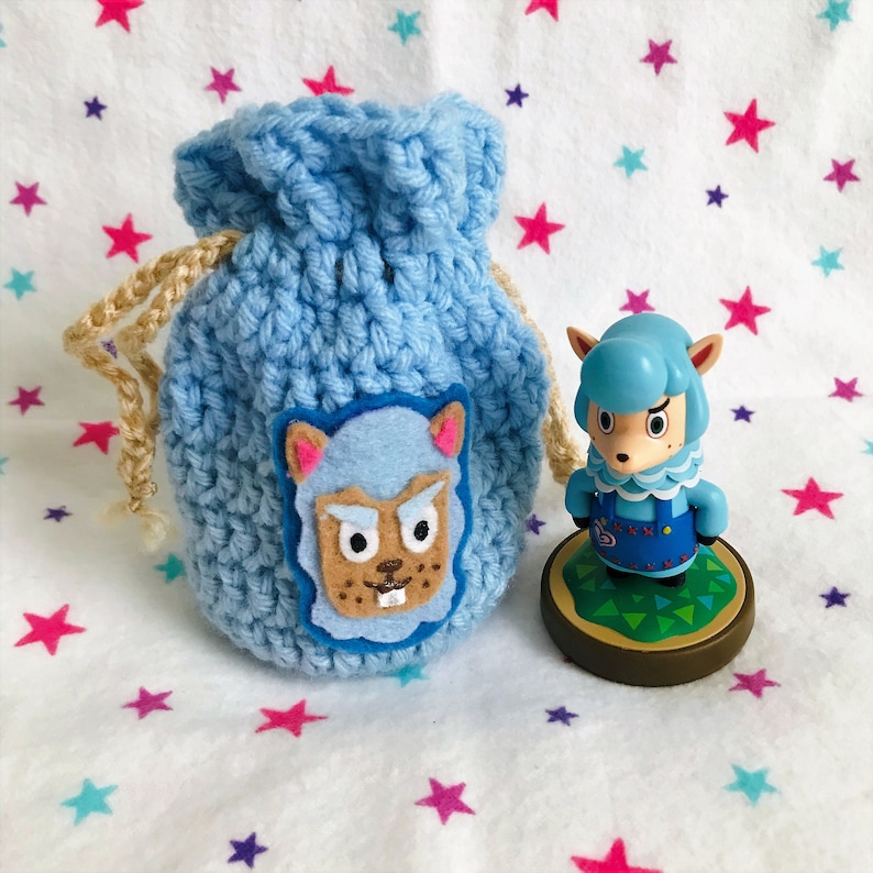 CYRUS AMIIBO BAG  Animal Crossing  Crochet Amigurumi image 0