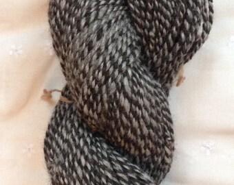 Hand Spun Alpaca Yarn, Variegatd Jamuna and Ultima