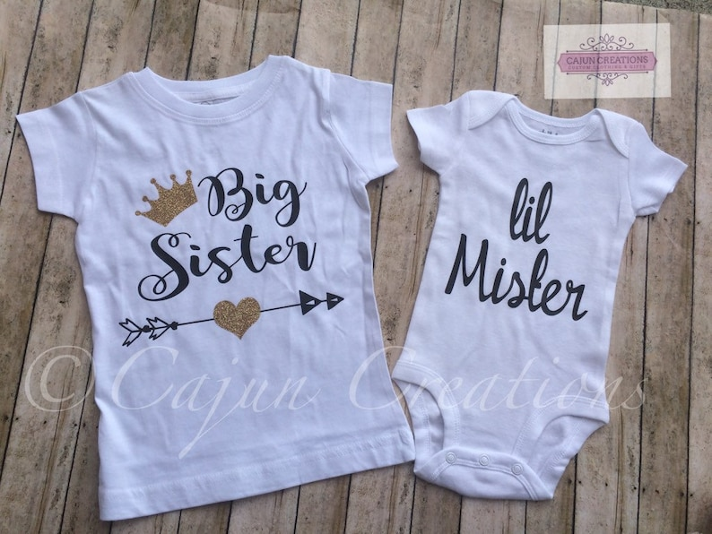 Girls Big Sister T-Shirt going to be I/'m the New Baby Shower Gift 0-15 years