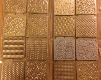 Amazing Collection of 19 Different Quickutz Goose Bumps Metal Embossing 2 x 2 Dies