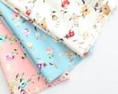 FB11,Anna Floral Fabric - no.1 IVORY,1yard