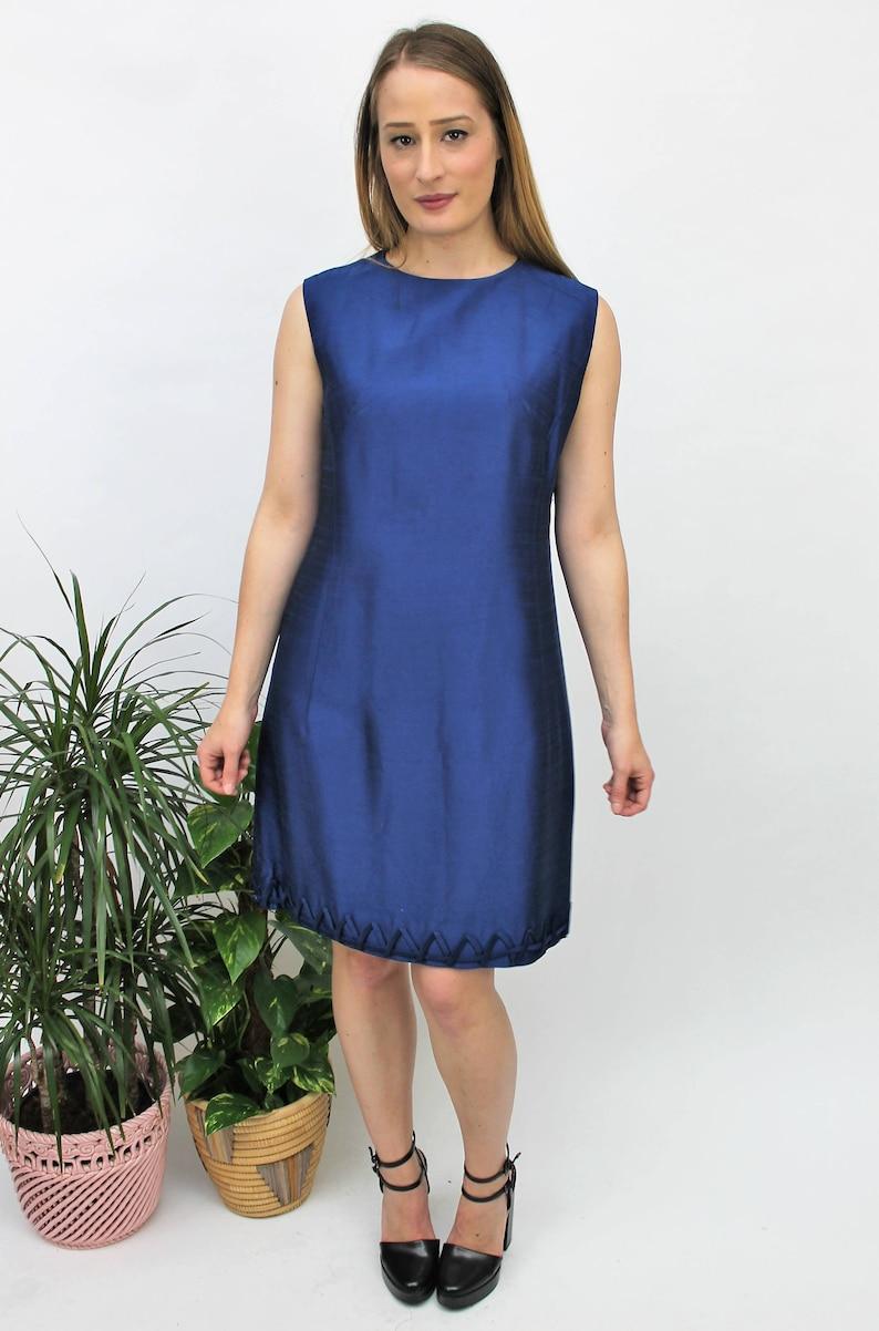 Rich Blue Dress
