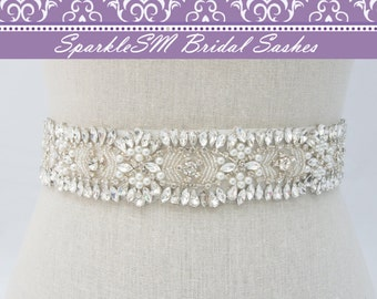 Crystal Bridal Belt, Jeweled Belt, Rhinestone Sash Belt, Wedding Belt, Wedding Sash, Crystal Bridal Sash, Bridal Belt, Bridal Dress Sash
