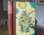 Vintage Boxed Edition Treasure Island, Robert Louis Stevenson, Heritage Press, 1969
