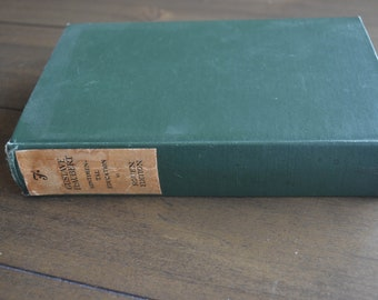 Gustave Flaubert Sentimental Education, Volume VI, Rouen edition ,1904, Dark Green