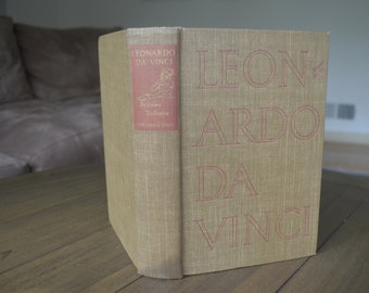 Vintage Art and History Book - Leonardo DaVinci: The Tragic Pursuit of Perfection, Antonina Vallentin, 1938