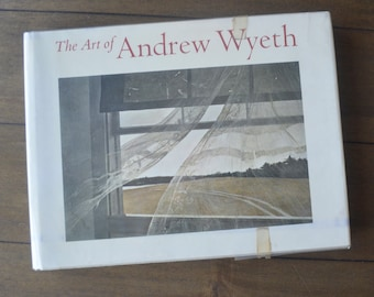 Vintage Coffee Table Art book, The Art of Andrew Wyeth, Wanda M. Corn, 1973