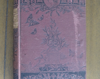 Poems, Plays and Essays by Oliver Goldsmith, John W. Lovell, Publisher, 1881, Burgundy