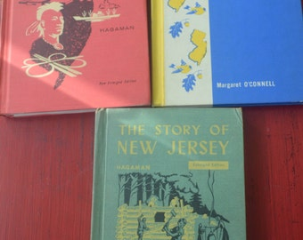 "Three Books about New Jersey's History, ""The Story of New Jersey"", ""Jersey's Story"", 1957-1959"