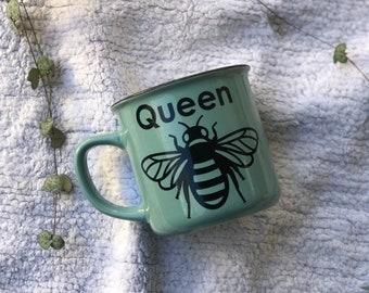 SALE!!! QUEEN BEE Camper Mug