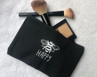 SALE!!! CASE - Bee Happy Pencil/Makeup Case
