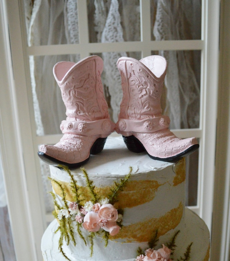 f79ca0bc71a54 Cowgirl boots birthday party bridal shower girl's cake | Etsy