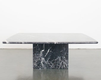 Modern Marble Coffee Table Etsy