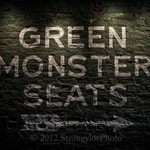 Green Monster Seats,Boston Red Sox,2018 World Series Champions,8x12,sports,baseball,man cave decor