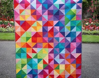 Postcard from Sweden QUILT KIT (35 Fat Quarters and a 3/8 Yard Cut)  FREE Shipping