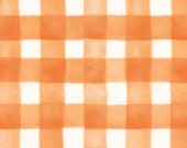 Pumpkin Orange Plaid From Spellcaster 39 s Garden Collection by Meg Hawkey For Maywood Studios- 100 Quilt Shop Cotton