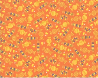 New Halloween Boo Candy Corn 100/% Cotton BTHY 42 inches wide