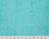 Saltwater Luxe Cuddle Ziggy Minky From Shannon Fabrics - Zig Zags Chevron- 12mm Pile