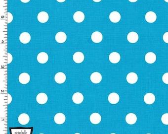 Spot fabric Bright green spots 100/% cotton sewing timeless treasure c-2114