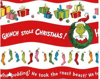 The Grinch Striped Christmas From Dr Seuss's How The Grinch Stole Christmas 5 Collection