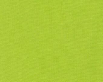 Chartreuse Green Solid Kona Cotton from Robert Kaufman Fabrics - K001-1072