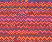 Kaffe Fassett Fabric- Zig Zag Stripes in Holiday From Kaffe Fassett Collective Classics Collection by Free Spirit Fabric