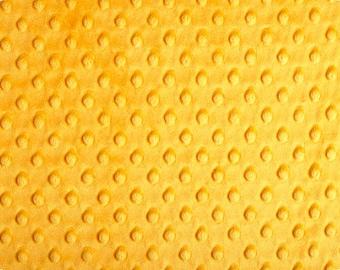 Mango Cuddle 3 mm Minky Premier Shannon Cuddle 3 Mango Cuddle Fabric By The Yard Minky By The Yard Minky Dot Fabric For Sale