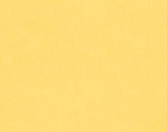 Lemon Kona Cotton from Robert Kaufman Fabrics - K001-23