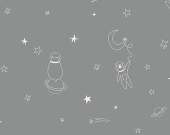 Stargazer Collection - To Bearfinity & Beyond! Designed by AG Studios for Art Gallery Fabrics 100% Cotton CAP-ST-1104