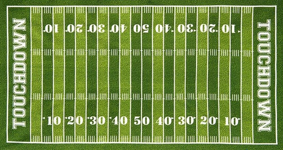 Exhilarating image for football field printable