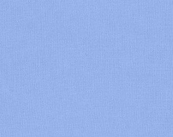 Cornflower Blue Solid Kona Cotton from Robert Kaufman Fabrics - K001-27