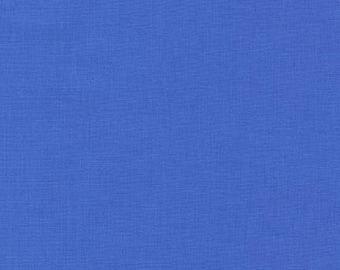 Hyacinth Blue Solid KONA COTTON from Robert Kaufman Fabrics - K001-1171