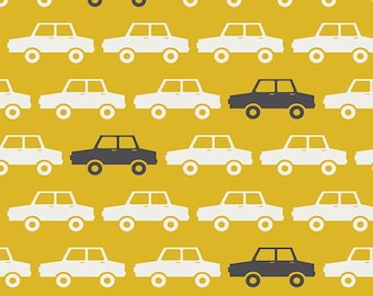 Day Trip Collection- Parallel Parking by Dana Willard for Art Gallery Fabric