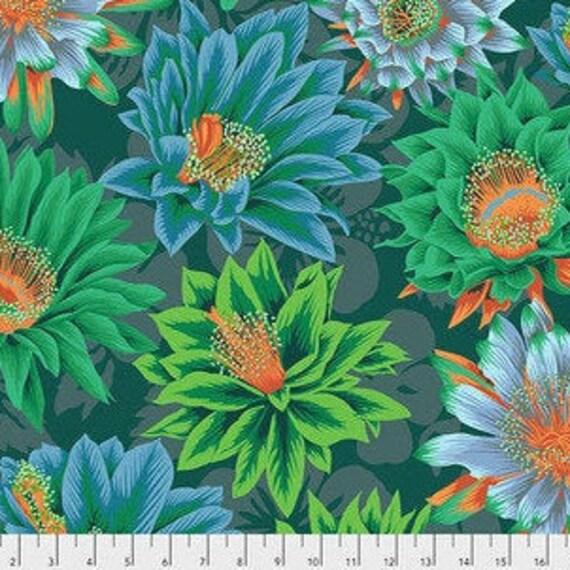 FQ Spot On Cactus Green fabric by Robert Kaufman