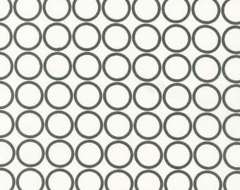 Grey Circles on Cream Metro Living From Robert Kaufman