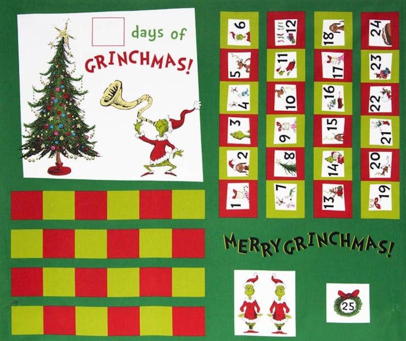 苏斯博士的《格林奇历险记》日历面板图片1