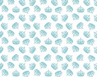 Aqua Hollywood Sparkle Crowns from Riley Blake