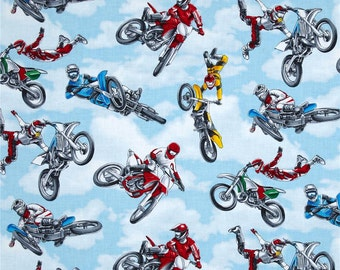 Tossed Dirt Bike Riders From Timeless Treasures