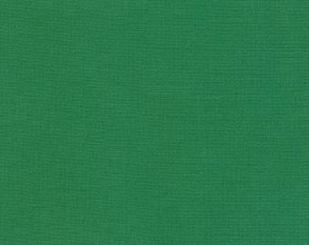 Fern Green Solid Kona Cotton from Robert Kaufman Fabrics - K001-1141