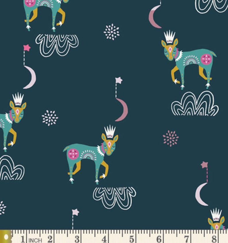 Sleep Tight Nightfall Deer from Lugu Collection by Jessica Swift Art Gallery