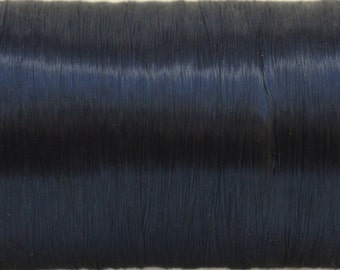 Large vintage spool Navy acetate fiber